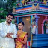 Karthick and Deepika Candid Photography In Virudhunagar