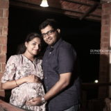 Dr.Pavithra Maternity Photography In Madurai
