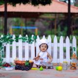 Magizh 1st Birthday Photography In Madurai