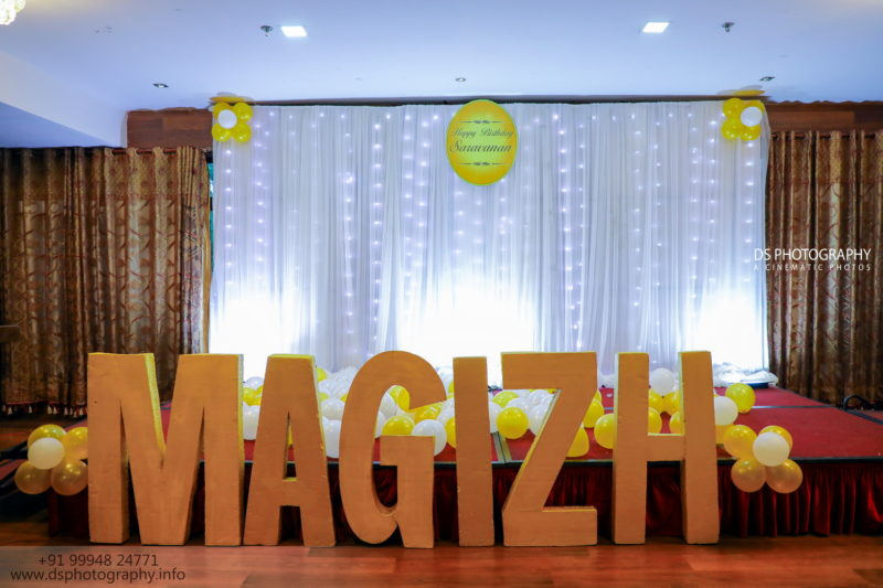 Birthday Party Hall Photography In Madurai
